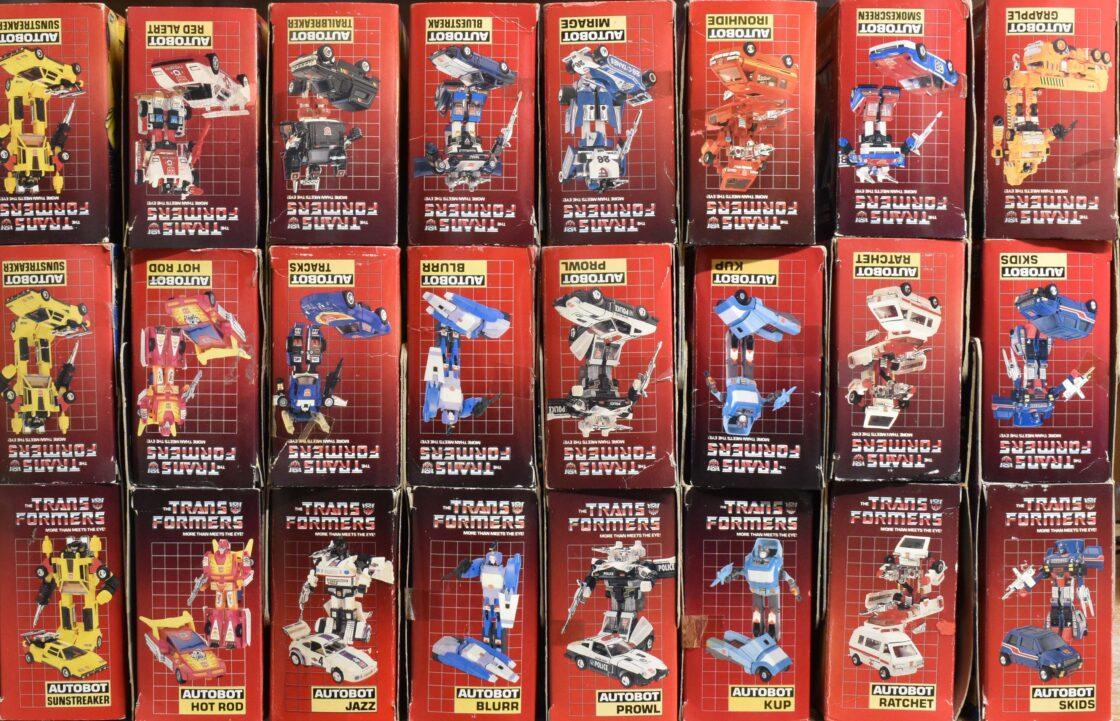 Vintage G1 Transformers Hasbro Action Figures