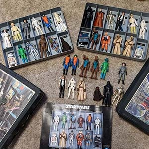How to Sell Star Wars Action Figures for Cash?