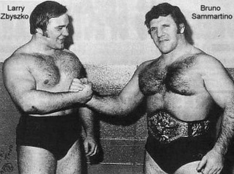 Bruno Sammartino vs. Larry Zbyszko