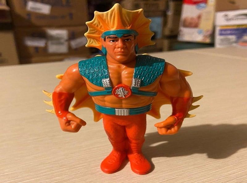 """Hasbro's WWF Ricky """"The Dragon"""" Steamboat (1991)"""