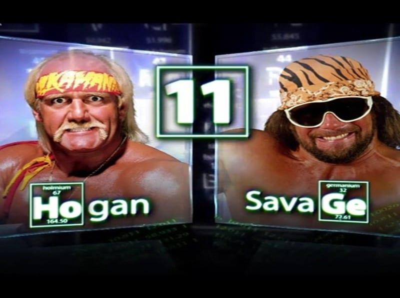 Hulk Hogan vs. Randy Savage