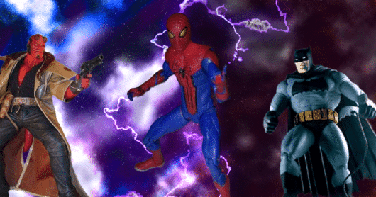 The Top 10 Toys Based on Comic Books