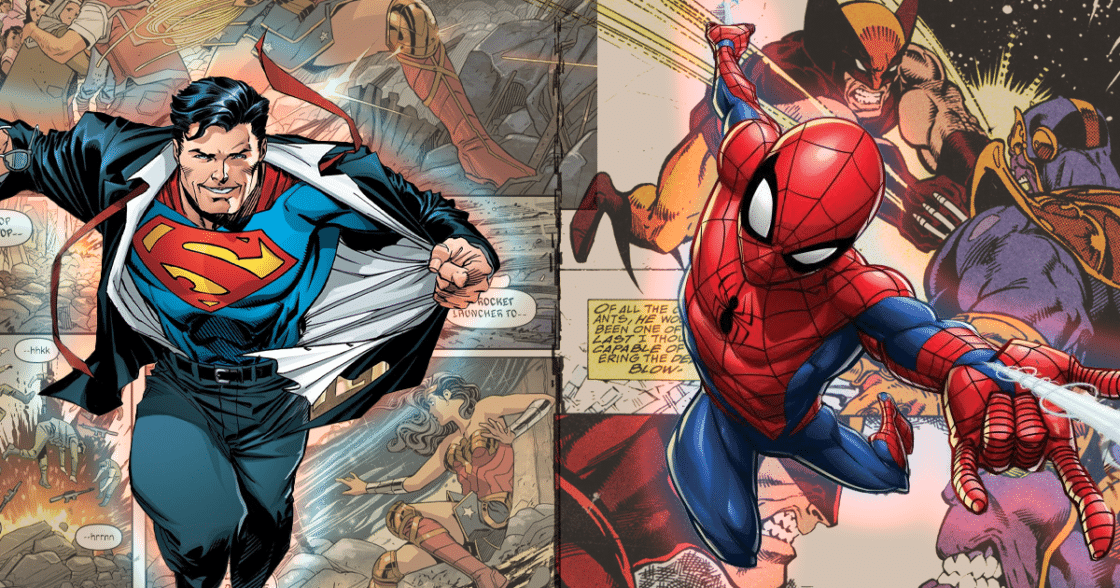 The 10 Best Comic Book Heroes of All Time