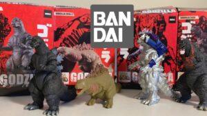 Bandai Godzilla Candy Toys