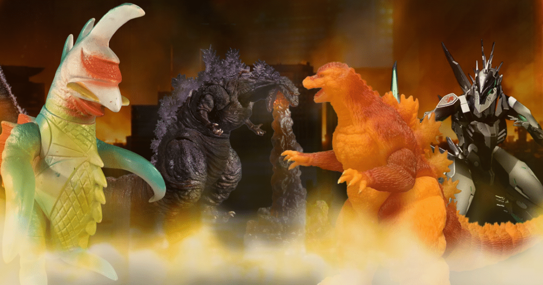 The Top 10 Godzilla Toys of All Time