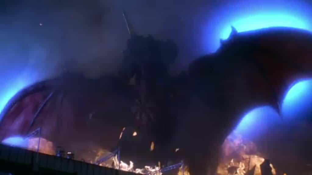 Destroyah's final form emerges in Godzilla vs. Destroyah (1995)
