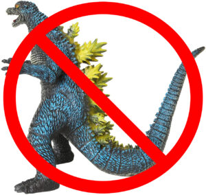 Not a genuine Godzilla toy. Sort out bootlegs.
