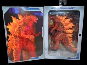 Neca Burning Godzilla (2019) in box
