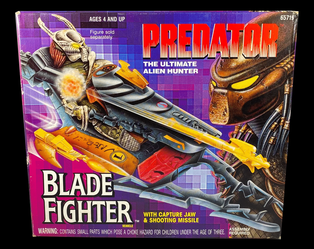 Kenner's Predator Blade Fighter (with Capture Jaw & Shooting Missile)