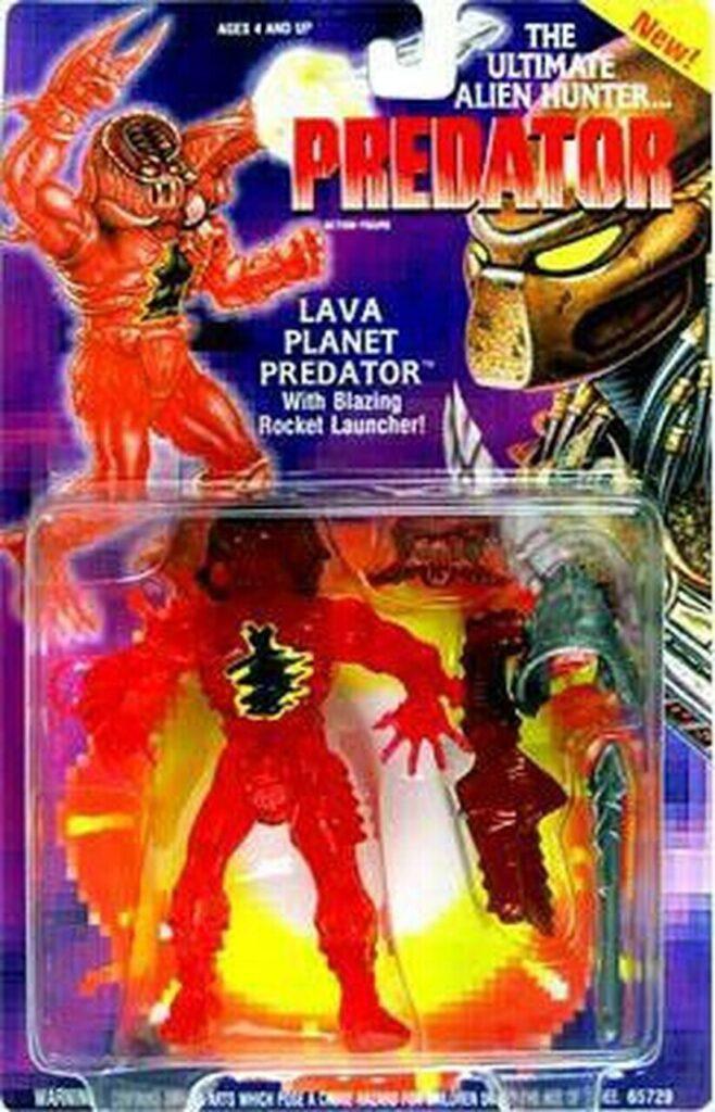 Kenner's Lava Planet Predator