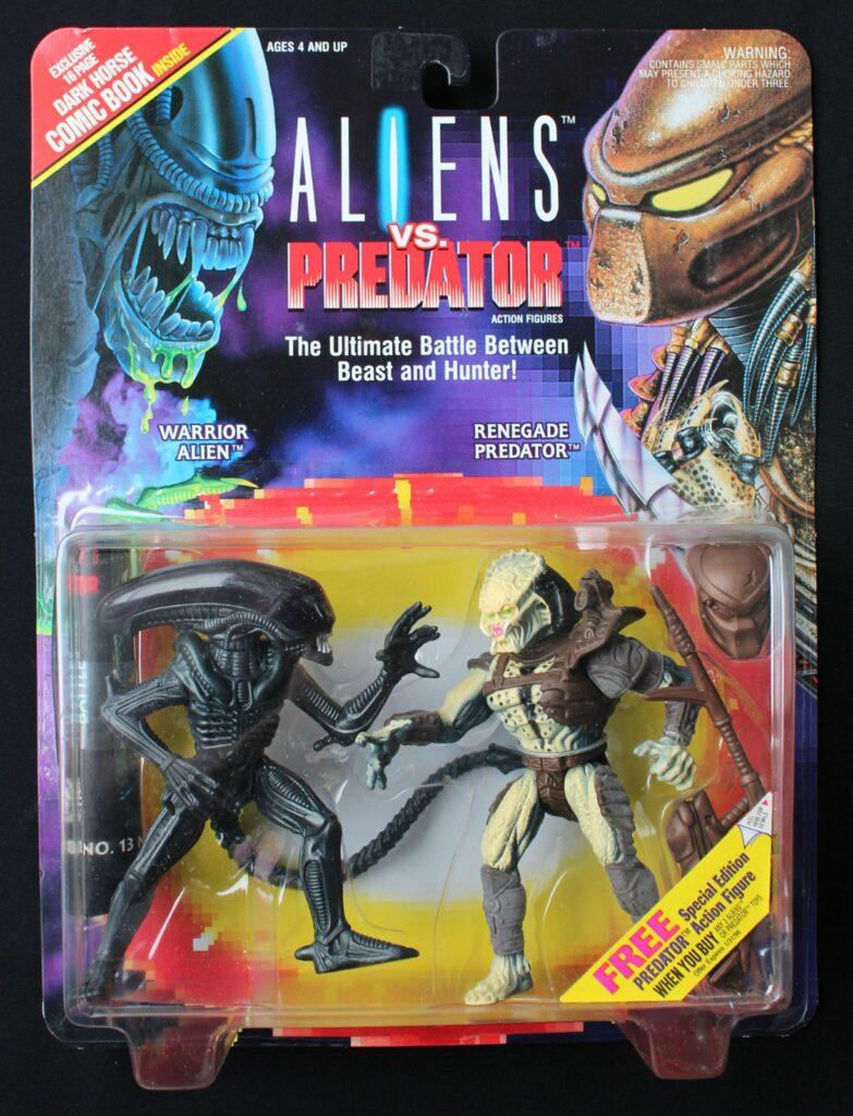 Kenner's Warrior ALIEN vs. Renegade Predator