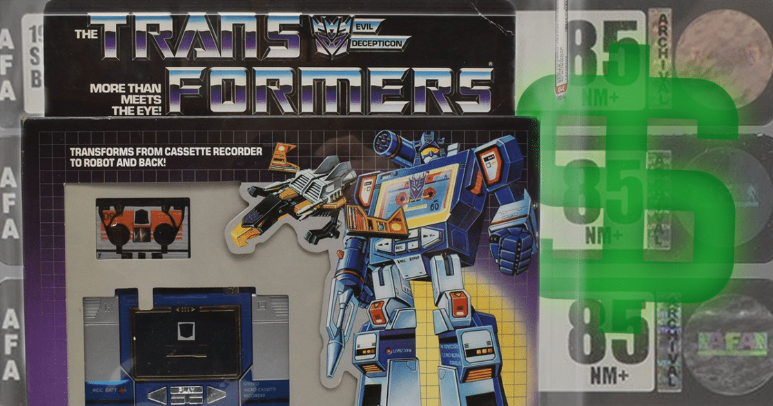 Sell Your AFA-Graded Toys at Wheeljack's Lab