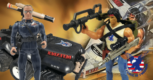 Top Ten Rambo Toys: From Coleco's Force of Freedom Line and Beyond