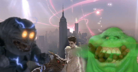 The Top Ten Ghosts from Ghostbusters