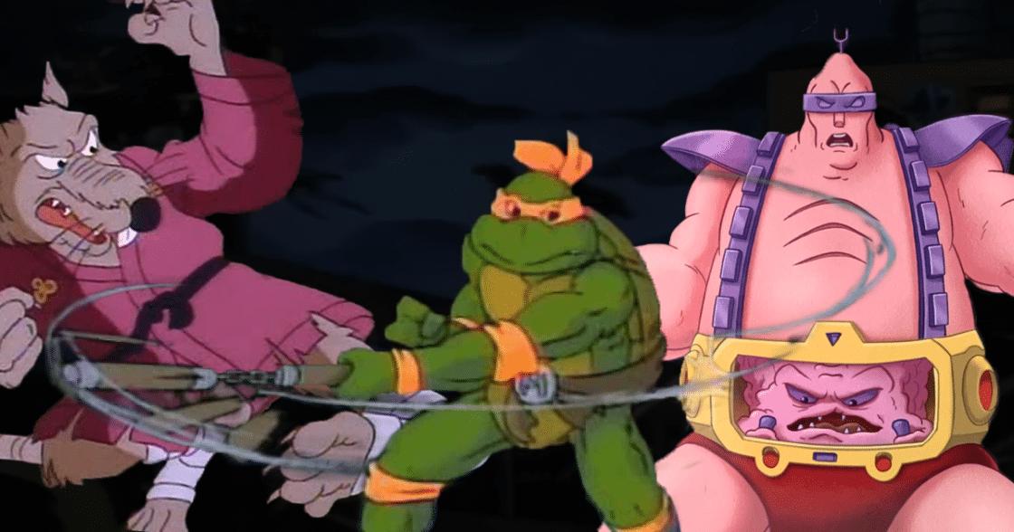 The Top 10 Teenage Mutant Ninja Turtles Characters from the 1987 Cartoon