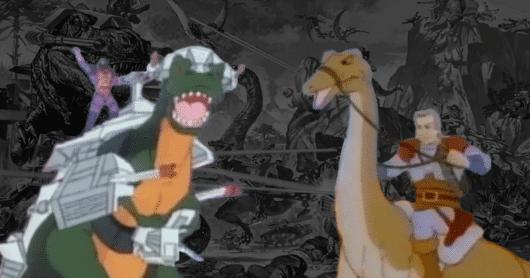 Retrospective On Dino-Riders Cartoon Series