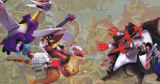 The Dinosaurs of Tyco's Dino-Riders Toy Line
