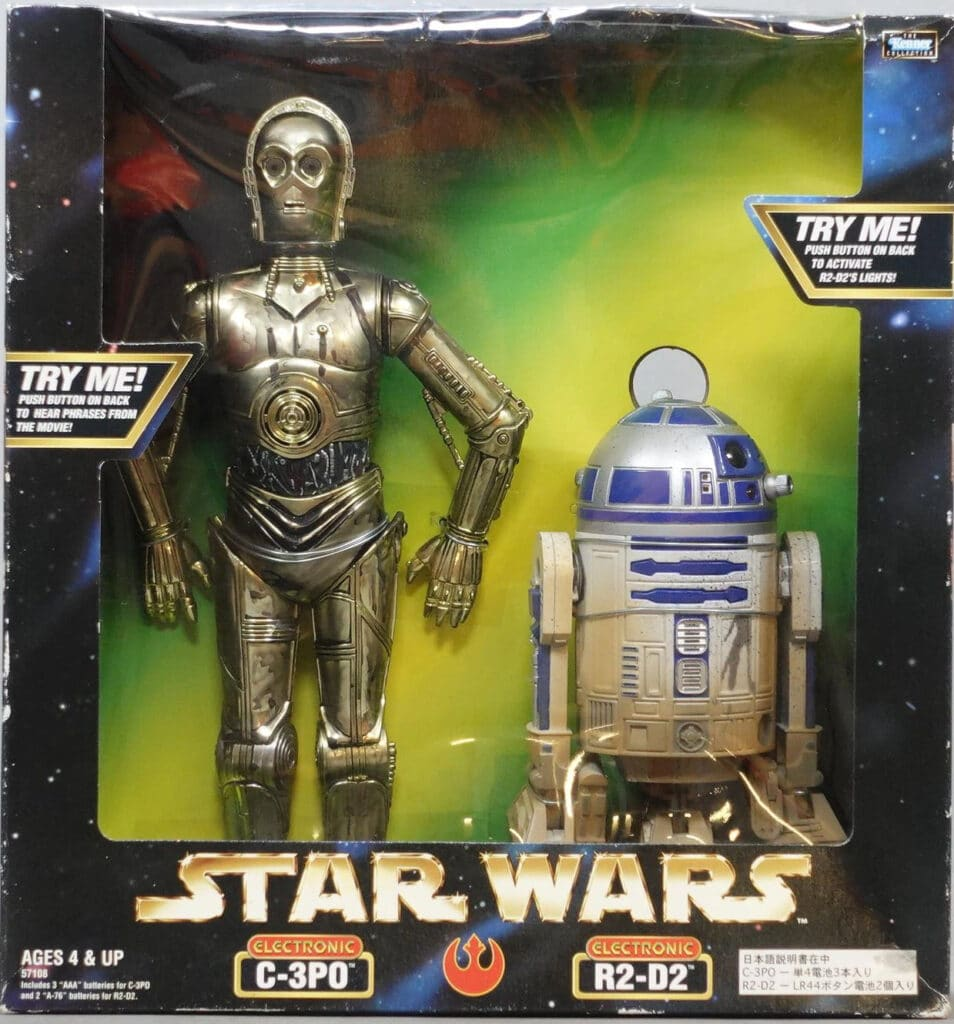 Electronic C-3PO and R2-D2 (1999)