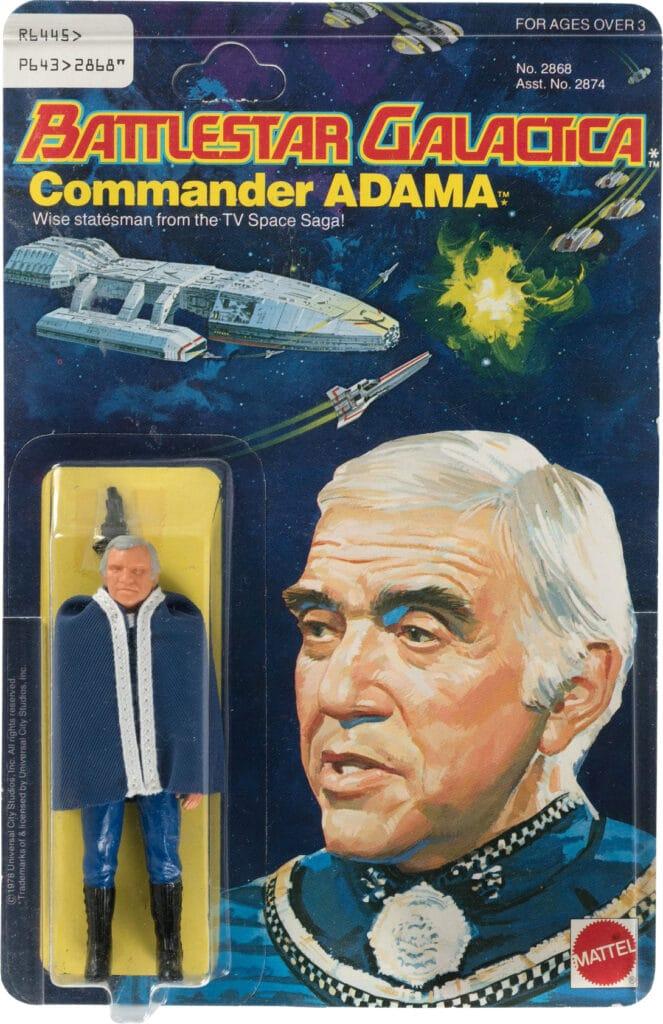 Mattel's Commander Adama (1978)