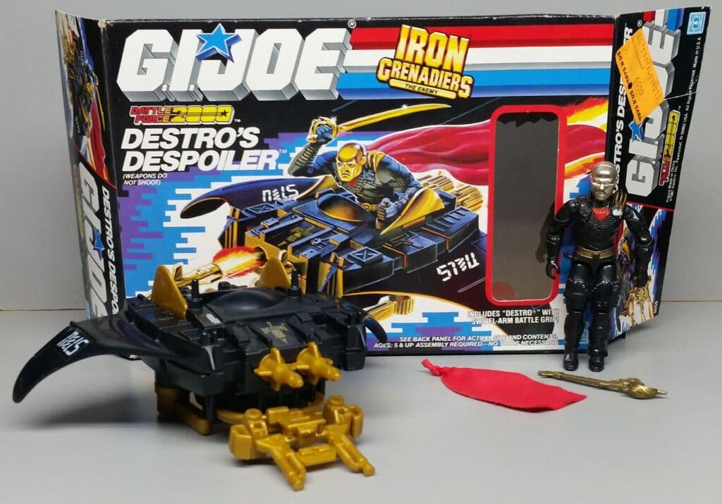 Hasbro 1988 G.I. Joe Destro's Despoiler