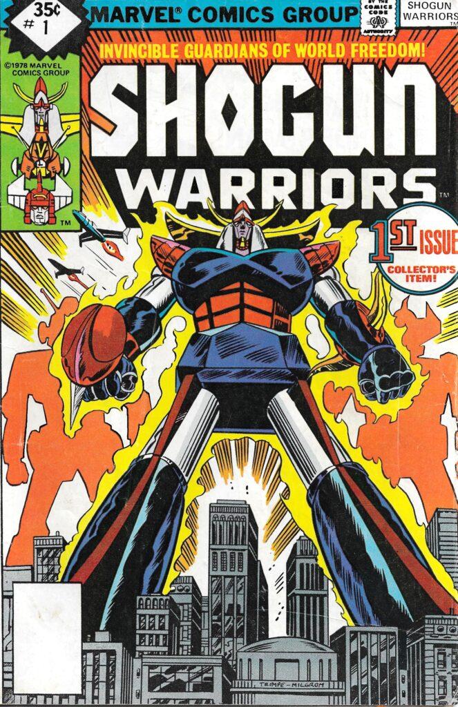 Shogun Warriors #1 (Raydeen) - February 1979