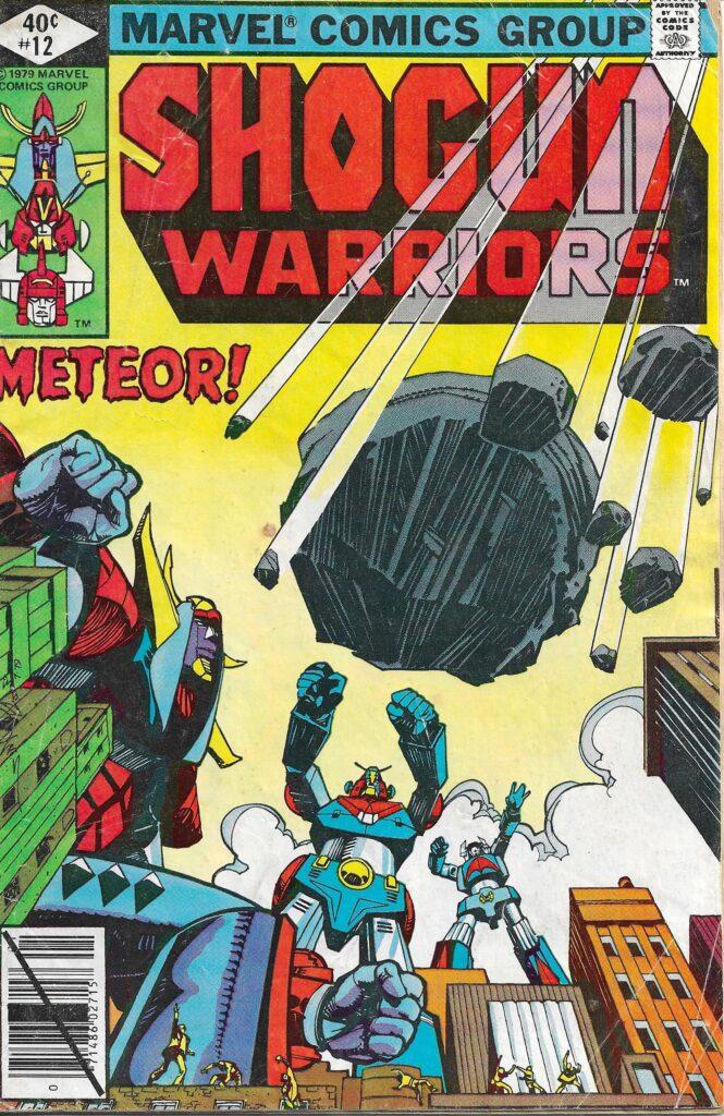 Shogun Warriors #12 (The Moon Menace) - January 1980