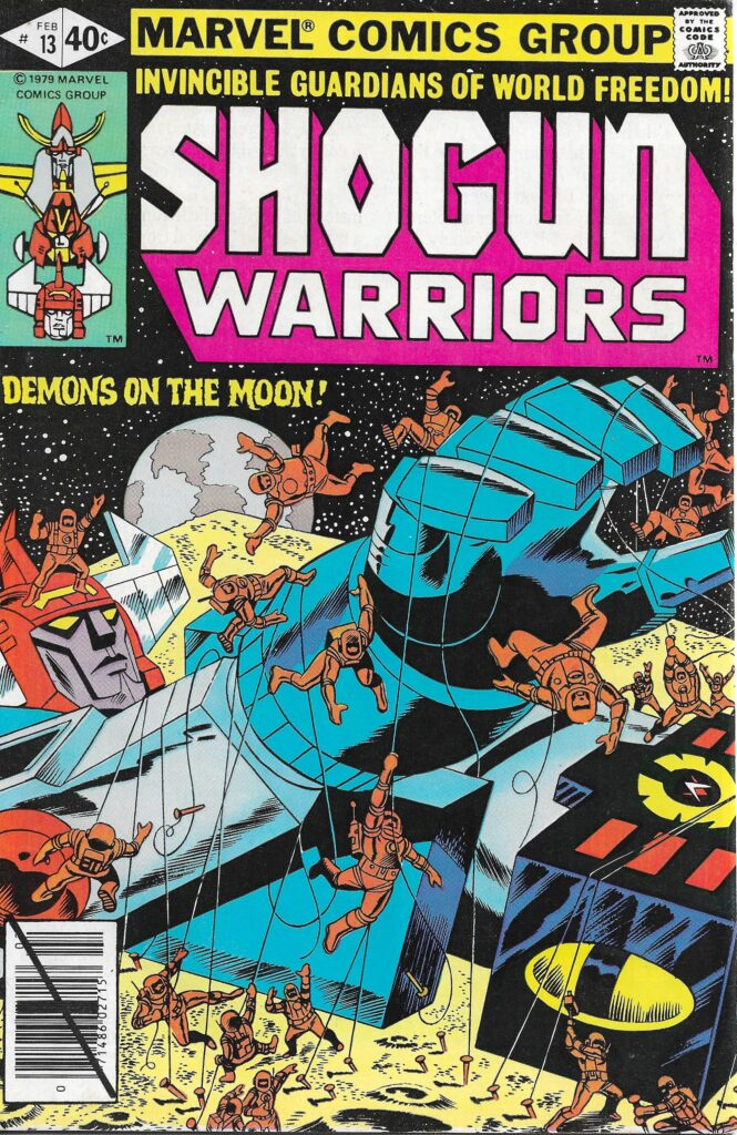 Shogun Warriors #13 (The Demonicus Scheme) - February 1980
