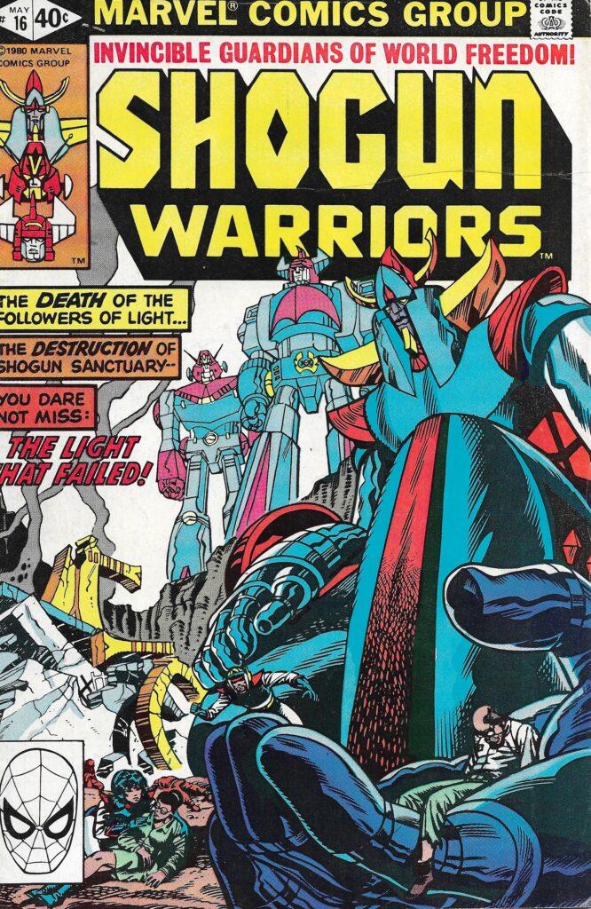 Shogun Warriors #16 (Death of Innocence) - May 1980