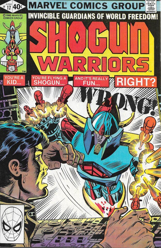 Shogun Warriors #17 (The Juggernaut) - June 1980