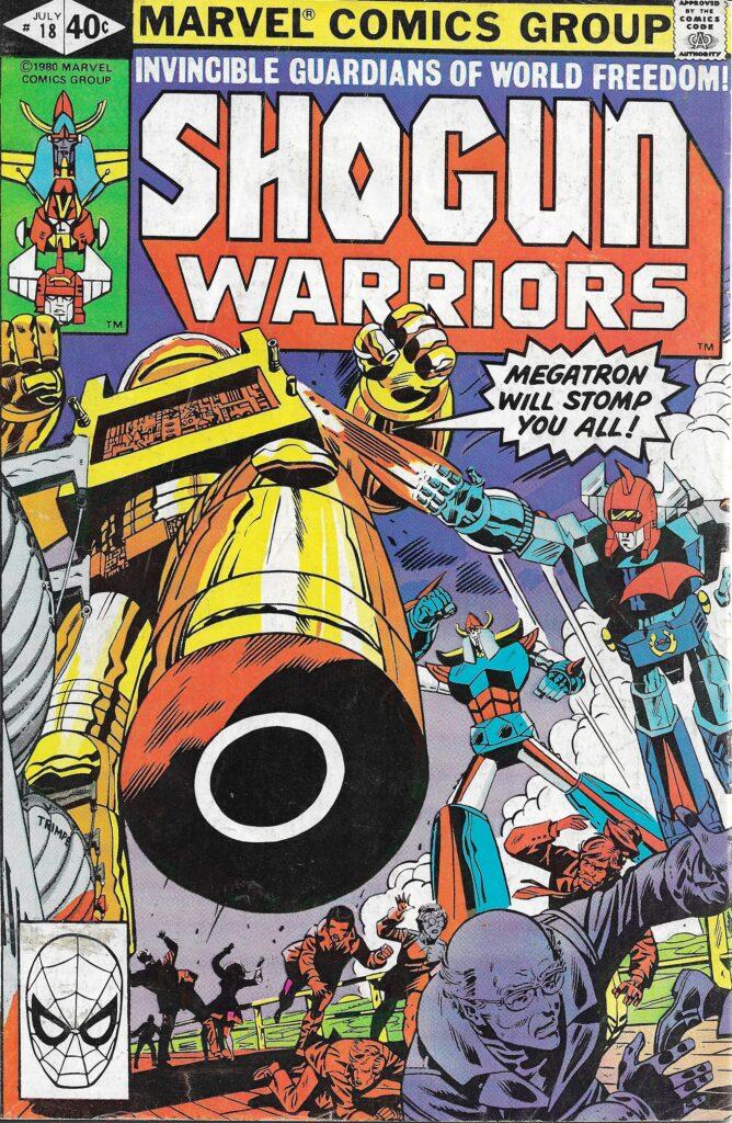 Shogun Warriors #18 (The Chaos Wars) - July 1980