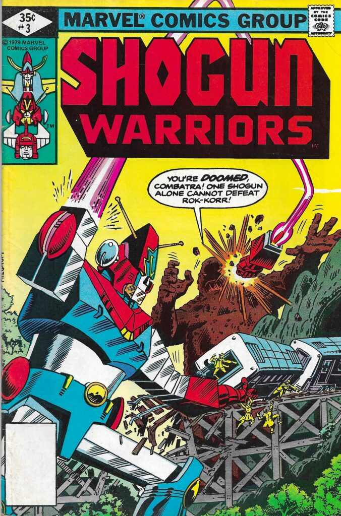 Shogun Warriors #3 (Elements of Destruction) - April 1979