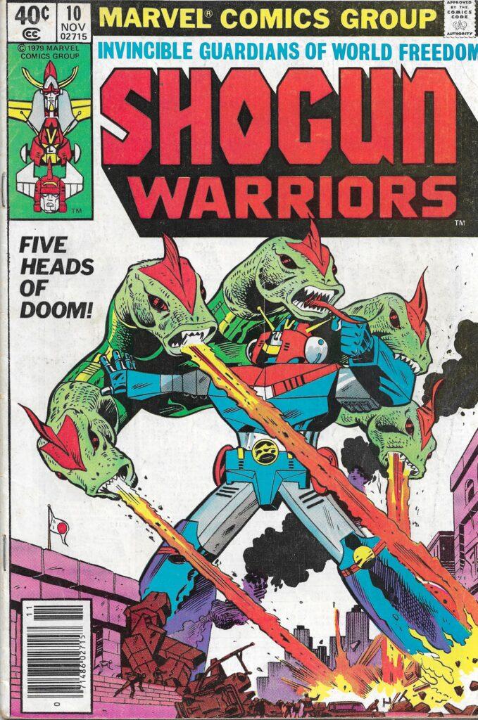 Shogun Warriors #10 (Five Heads of Doom) - November 1979
