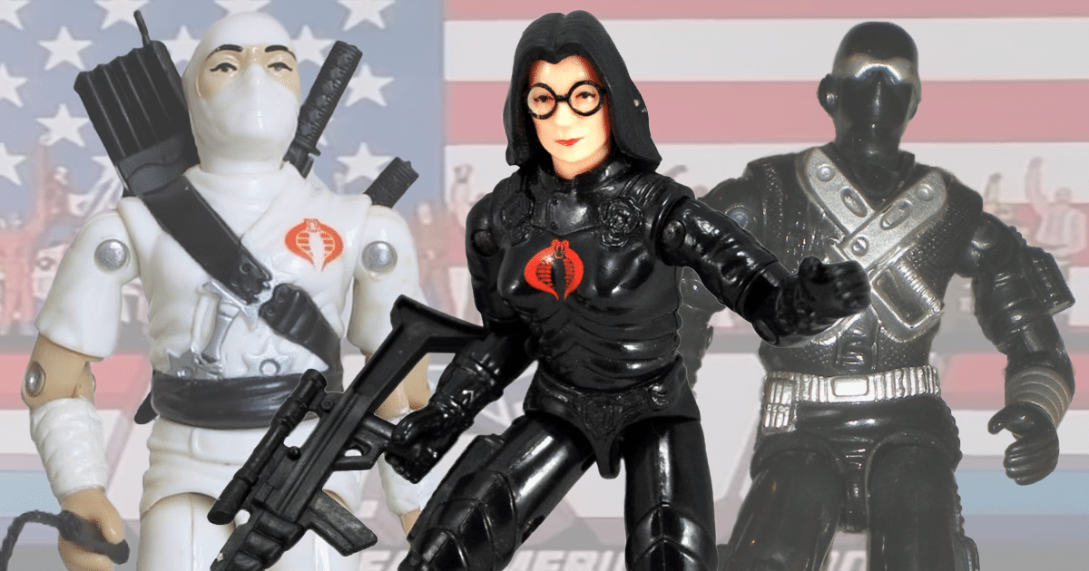 The Top Ten G.I. Joe Toys from the 1980s