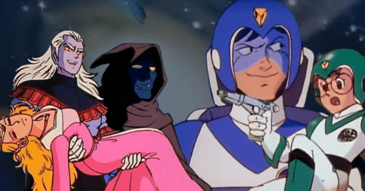 The Top Ten Characters from Voltron: Defender of the Universe