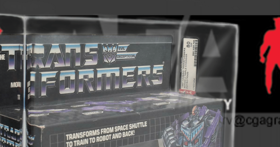How AFA-Grading Affects the Value of Old Toys
