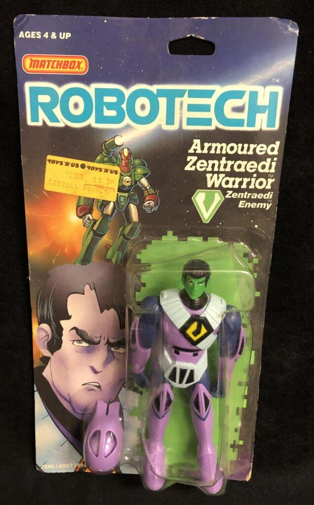 Matchbox's Armored Zentraedi Warrior (1986)
