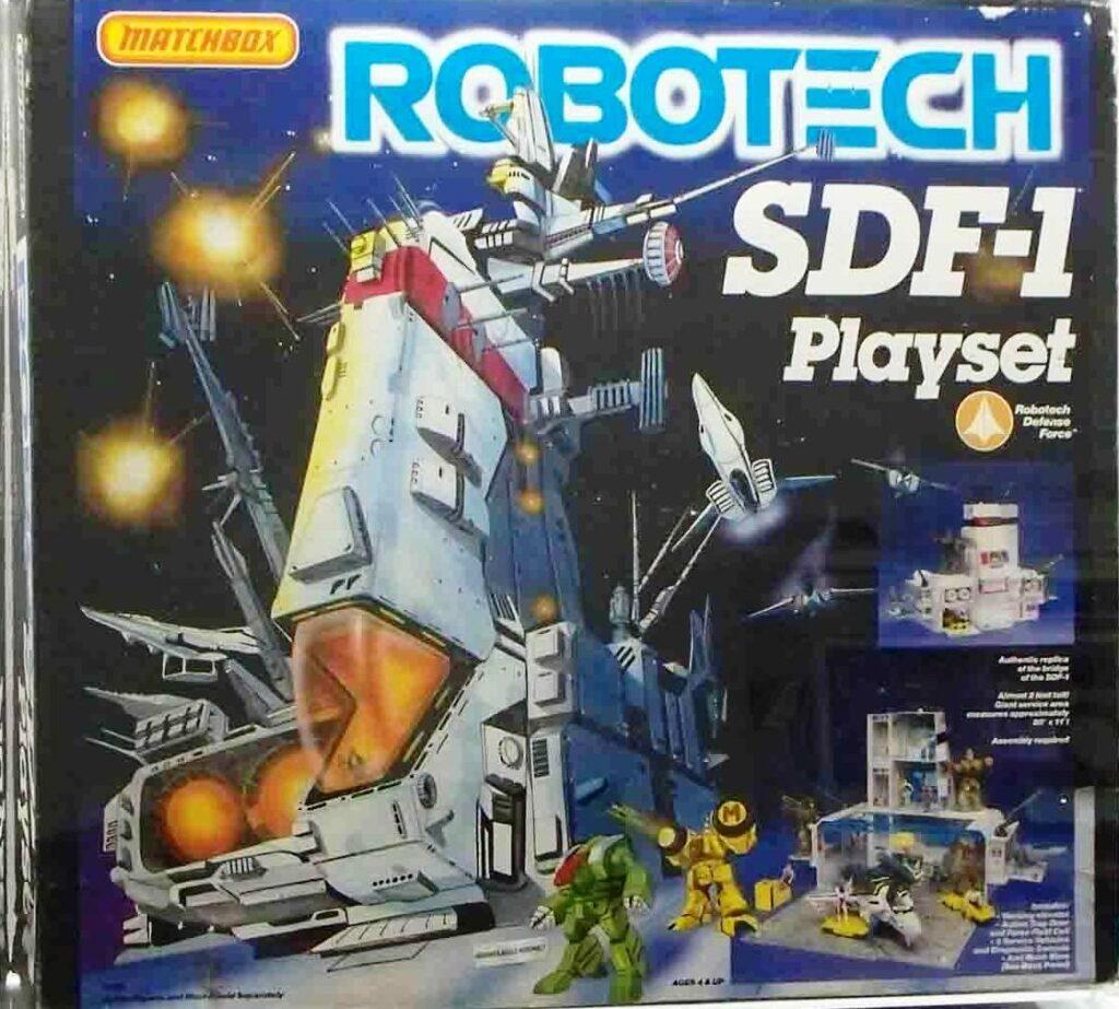 Matchbox's SDF-1 Playset (1986)