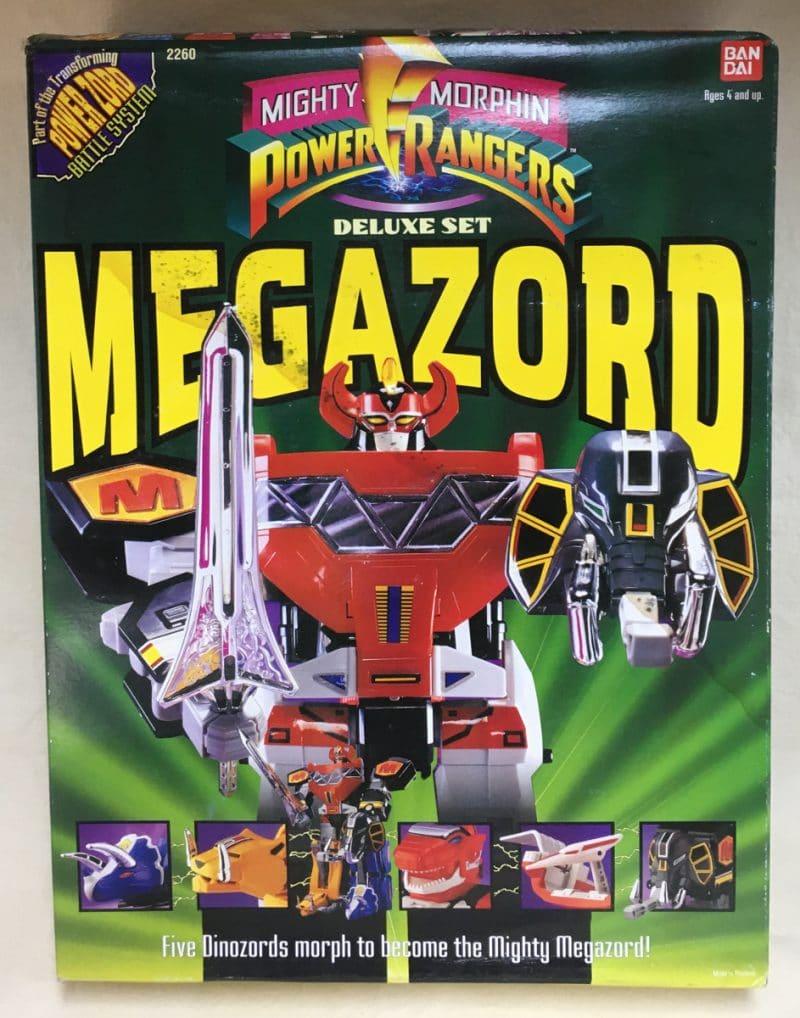 Bandai's Deluxe Set Megazord (1993)