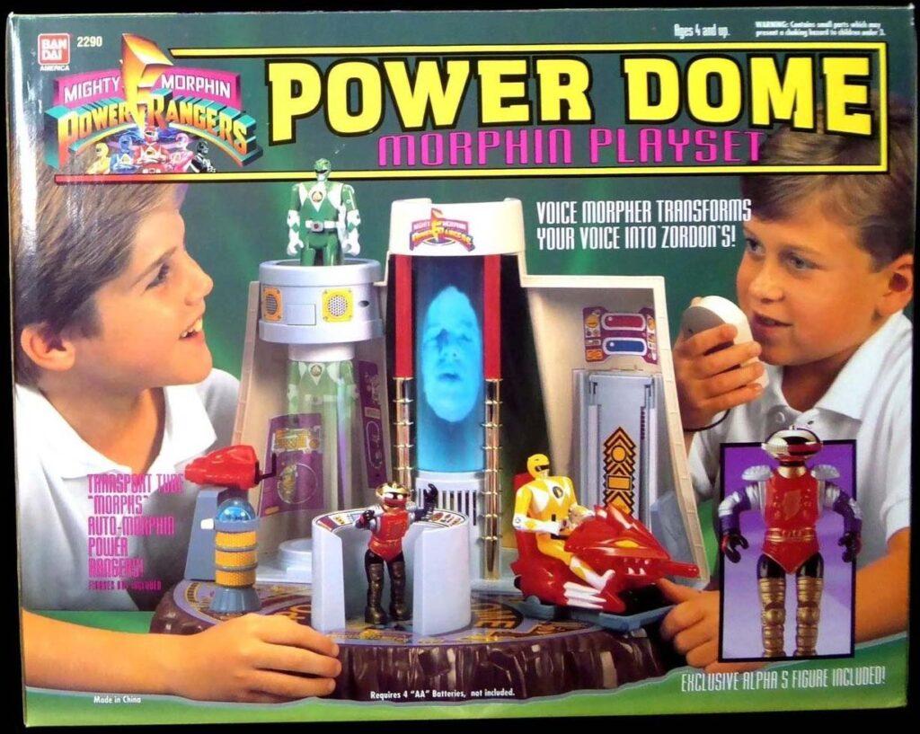 Bandai's Power Dome Morphin Playset (1994)