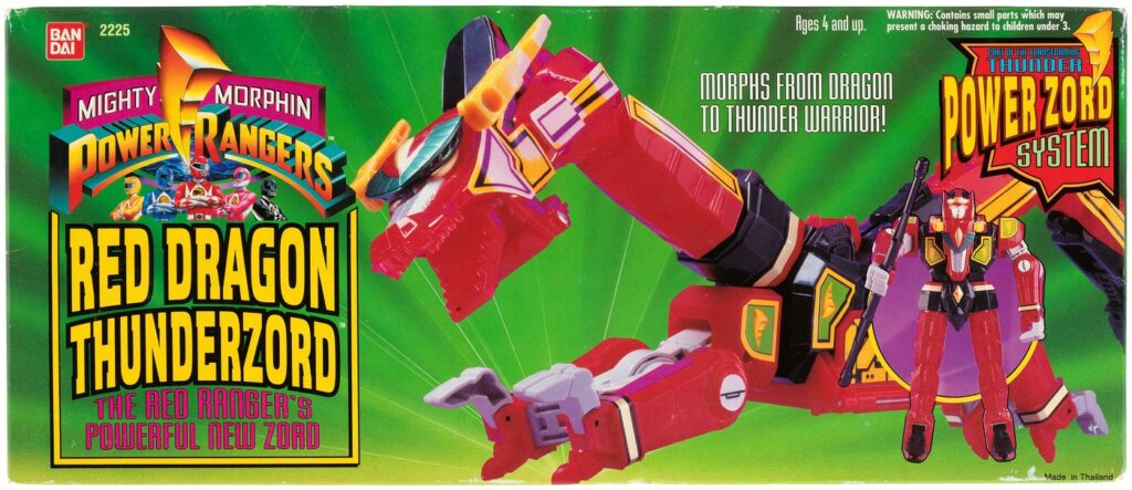Bandai's Red Dragon Thunderzord (1994)