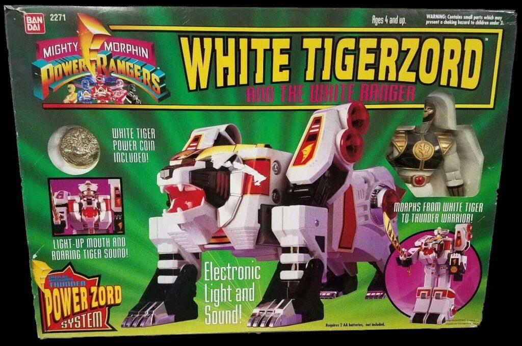 Bandai's White Tigerzord (1995)