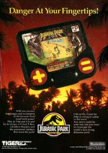 Jurassic Park Tiger Electronics