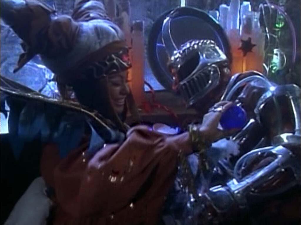 Rita Repulsa and Lord Zedd