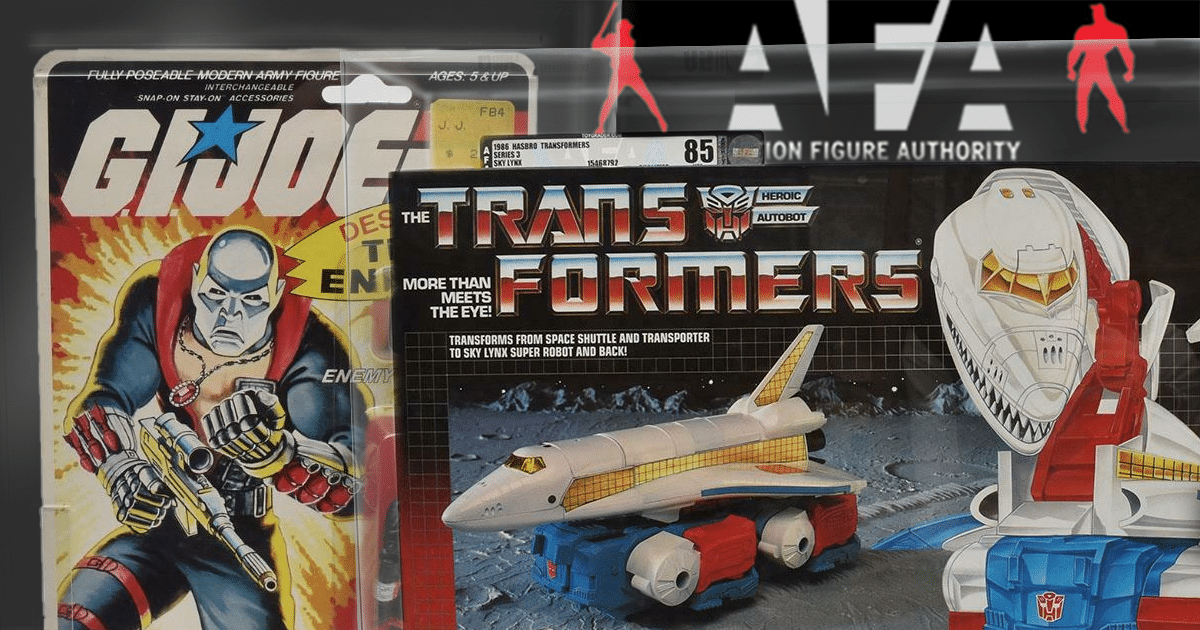 The Top Ten AFA-Graded Toys That Have Come Through Our Doors