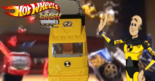 The Top Ten Toys from Hot Wheels' Incredible Crash Dummies Toy Line