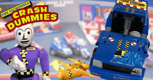 The Top Ten Incredible Crash Dummies Toys