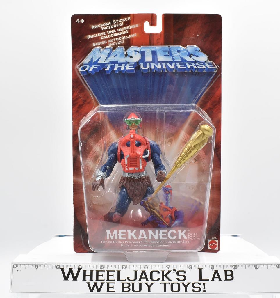MOTU Masters of the Universe 200x Mekaneck Action Figure NEW!