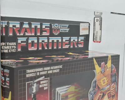 Hasbro 1986 Transformers Radimus Prime - AFA Graded 80