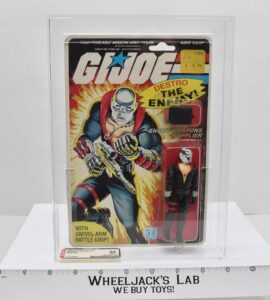 Hasbro 1984 GI Joe Destro (AFA 85)