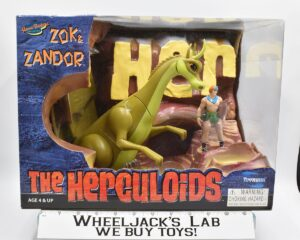 Toynami 2003 The Herculoids Zandor and Zok
